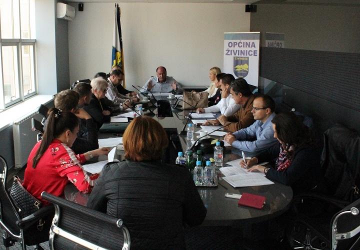 Sastanak u vezi programa sufinansiranja zapošljavanja djece šehida i poginulih boraca