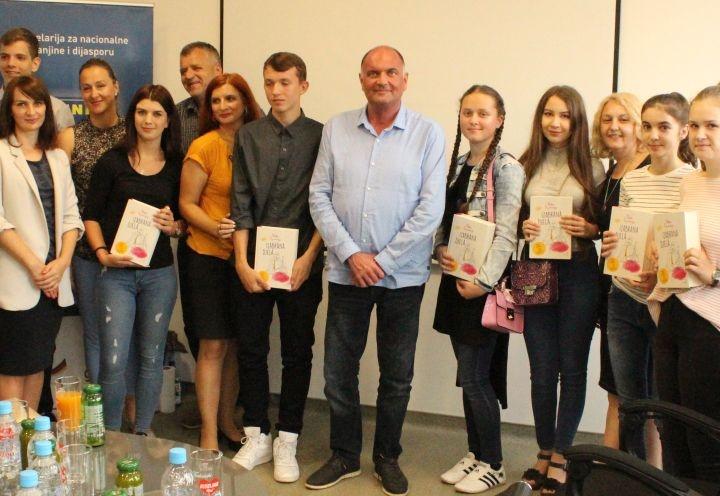 Gradonačelnik Samir Kamenjaković upriličio prijem za učenike generacije