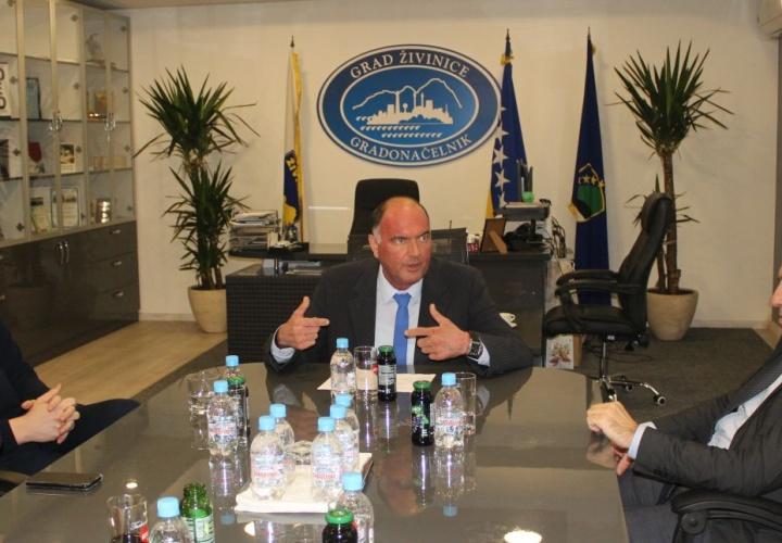 Premijer Tuzlanskog kantona posjetio Grad Živinice