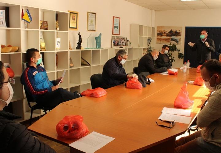 Održan sastanak sa predstavnicima Kriznih štabova Mjesnih zajednica