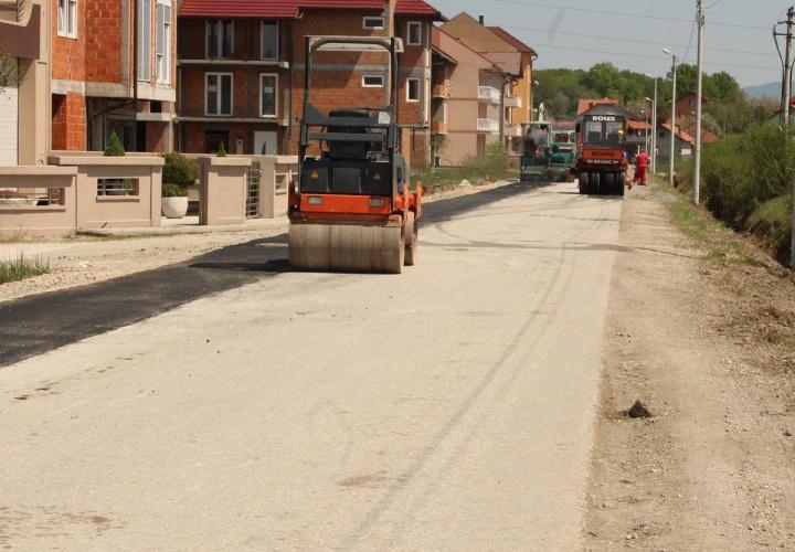 Počela rekonstrukcija puta sa proširenjem pješačke staze BM-Gradsko mezarje