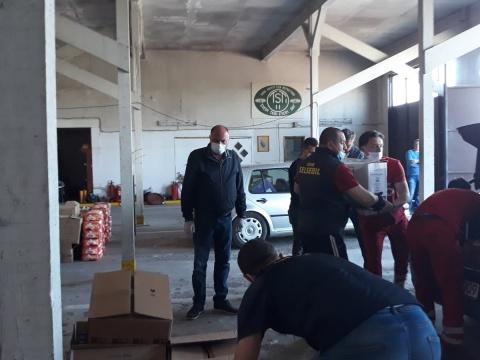 Izvršena dodjela prehrambenih paketa za socijalno ugrožene građane