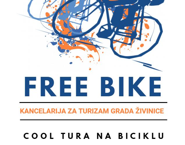 Besplatno iznajmljivanje bicikala u Gradu Živinice