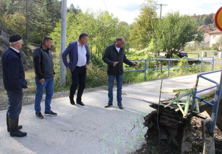 Počinje sanacija mosta u Mjesnoj zajednici Suha