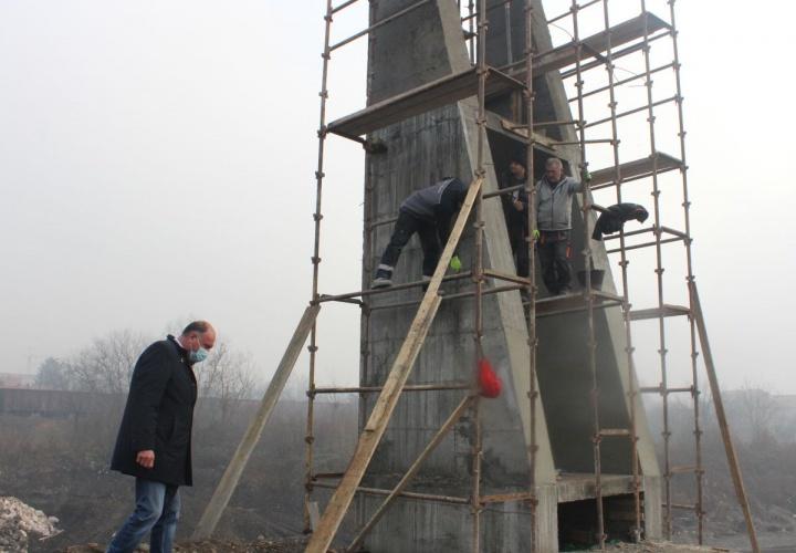 U toku izgradnja novog mosta pored željezničke stanice u Živinicama