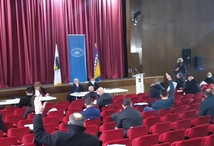 Održana konstituirajuća sjednica Gradskog vijeća Živinice