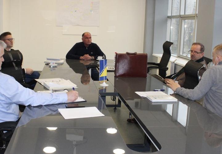 Održan radni sastanak sa predstavnicima JP Ceste Federacije BiH