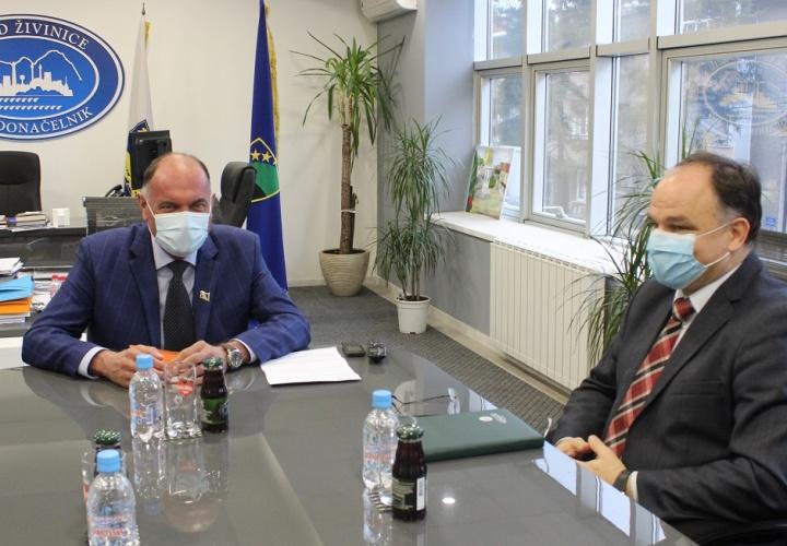 Održan radni sastanak sa ministrom prostornog uređenja i zaštite okolice TK
