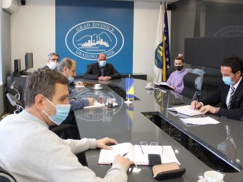 Gradonačelnik održao sastanak sa predstavnicima BH Pošte, ZZO i BIRO-a Živinice